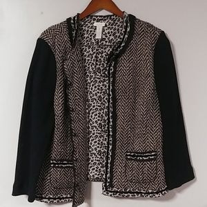 Classic blazer.  Chico's size 3